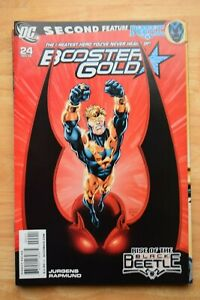 BOOSTER GOLD (2007) #24 (NM) JURGENS, DEATHSTROKE & THE NEW TEEN TITANS
