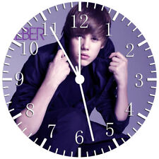 Justin Bieber Frameless Borderless Wall Clock Nice For Gifts or Decor W141