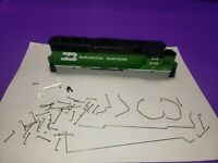 CASING RAILINGS BURLINGTON NORTHERN HO SCALE ATHEARN GP50 PHASE 2 LOCOMOTIVE KIT