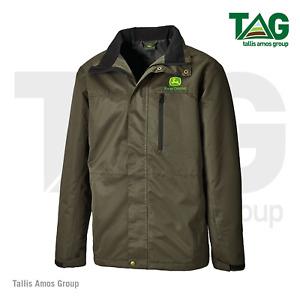 Genuine John Deere Dark Green Outdoor Jacket Coat - MCDW0015090
