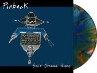 Pinback Some Offcell Voices BLUE/ORANGE VINYL LP Record! 3 mile pilot! rob crow!