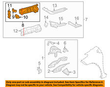 TOYOTA OEM 14-18 Yaris Fender-Inner Rail Right 5701652080