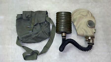 Genuine Military Surplus Polish SMS Gas Mask Preppers Halloween Costume Size 1