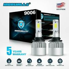 IRONWALLS 9006 HB4 LED Headlights Bulbs Kit Low Beam 2000W 300000LM 6000K White