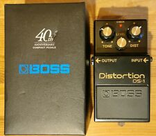 Boss DS-1 Distortion 40TH ANNIVERSARY EDITION Effektgerät Gitarre Bass **MINT**