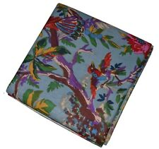 10 Yard Hand Bird Print Cotton Fabric Flower Printed 100% Soft Cotton Fabric
