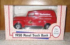 ERTL BANK BUDWEISER 1950 PANEL TRUCK 1:25 SCALE