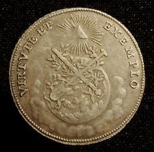 Rst. Frankfurt, Silberabschlag vom 3/4 Dukaten 1764 auf die Krönung Josephs II.