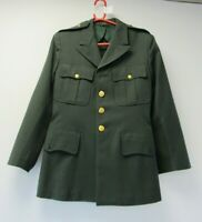 Harry Feit Wool Surge Army Green Uniform 44 1957 Military Size 39R - WAR H77