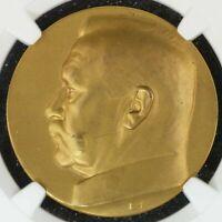 Medal Coin NGC MS66 Geremany Weimar Hindenburg Brass Faithful and United Gem BU