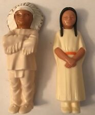 1960s ST. LABRE INDIAN SCHOOL CHIEF AND MAIDEN DOLLS ASHLAND MONTANA