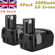 2X14.4V 3000mAh Li-ion Battery For Hitachi BCL1430 BCL1415 EBL1430 327728 326236
