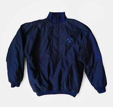 Adidas Golf 90's Vintage Crest Spell Out Fleece Pullover Windbreaker Jacket XL