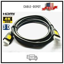 5FT UHD HDMI v2.0 Cable 3D 2160P 4K HDR Ethernet 18Gbps HDTV LED LCDTV