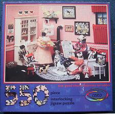jigsaw puzzle 550 pc COWS one good churn deserves an udder CEACO