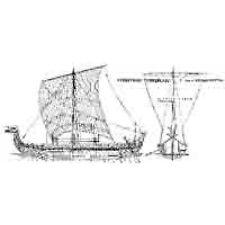 Plan de bâtiment Drakkar Modélisme Modèle plan de bâtiment vikings-bateau