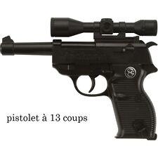 Pistolet Policier 13 coups Déguisement Homme Costume Police Gangster