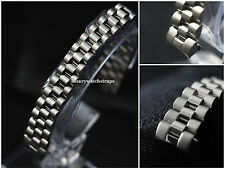 STAINLESS STEEL BRACELET STRAP FOR ROLEX LADIES PRESIDENT DATEJUST WATCH 13mm
