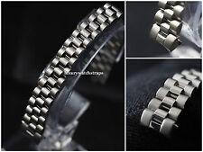 Correa de Pulsera de Acero Inoxidable Para Reloj Rolex Damas presidente Datejust 13mm