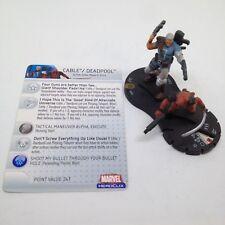 Heroclix Giant Size X-Men set Cable / Deadpool #055 Chase figure w/card!