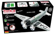 Tronico Metallbaukasten Flugzeug Junkers JU52 Bausatz