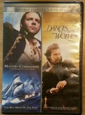 Fox Dbl Feature Set: Master and Commander/Dances with wolves kostner crowe DVD
