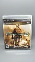 Call of Duty: Modern Warfare 2 (PlayStation 3, 2009) Complete w/Manual