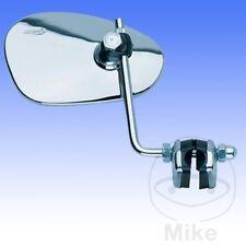 Rechten Spiegel oval chrom Kunststoff LEGSHIELD x1pc 912/2vr