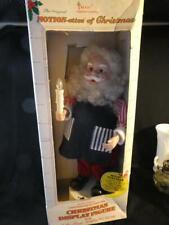 Vintage Motion-ettes of Christmas Singing & Moving Santa Display Figure Doll