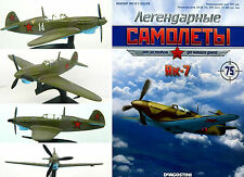 Soviet Russian JAK 7  Fighter Aircraft + magazine !