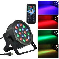 RGB 18LED 36W Stage Lighting Club Bar DJ Party DMX512 LED Par Light Remote