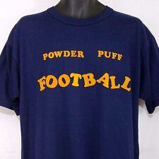 Powder Puff Football T Shirt Vtg 90s Electrifying Elvira 1993 USA Mens Sz XL EUC