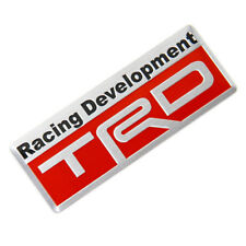New Auto Car Styling 3D Racing Development TRD Sticker Emblem Decal for Toyota