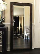 "West Frames Tuscany Full Floor Dark Brown Gold Mirror 32"" x 68"""