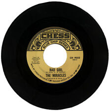 "THE MIRACLES  ""BAD GIRL c/w I LOVE YOU BABY""     EARLY MOTOWN CLASSIC"