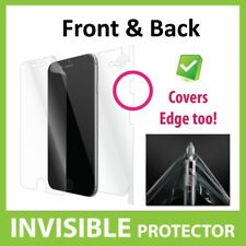 IPhone 8 protector de pantalla delantera y trasera cobertura invisible escudo de piel
