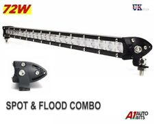"25"" 72W LED Flood Spot Combo Work Light Roof Bar SUV Front Rear Lamp Waterproof"