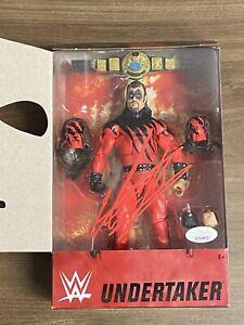 THE UNDERTAKER WWE Elite Collection Kane Deadman's Revenge Auto Autograph JSA