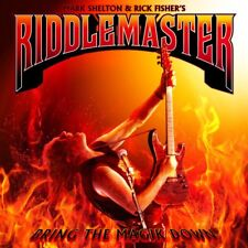 RIDDLEMASTER-Bring The Magik Down - CD-Digipak Mark Shelton Manilla Road Neu New