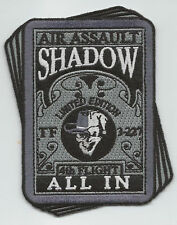 """TF  3/227th 4th FLIGHT """"ALL IN"""" #1 patch"""