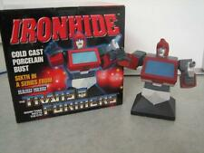 Transformers Ironhide Cold Cast Porcelain Bust Statue 268/4000 Hard Hero 2002