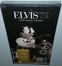 ELVIS PRESLEY ELVIS 75 GOOD ROCKIN' TONIGHT BRAND NEW SEALED 4CD BOXSET