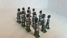 12 Metal Toy Soldiers- Welsh Gaurds In Winter Dress (157