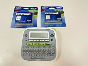 Brother P-Touch PT-D200 Label Thermal Printer + 2 Tapes
