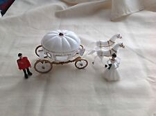 Large Cinderella Coach Wedding Carriage Cake Topper cenicienta favor de la boda