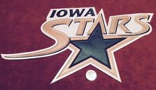 Iowa Stars AHL Medium White Pro Hockey Jersey Crest Patch 14 by 8 inches