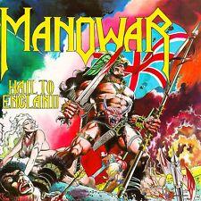 Manowar - Hail To England Vinyl LP Heavy Metal Sticker Or Magnet