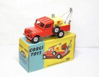 Corgi 417 Land Rover Breakdown Truck In Its Original Box - Excellent Vintage