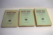 Libro Encyclopédie Culinaria Cuisine Hornear a Colombia 3 Volúmenes 1900