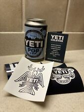 Yeti Pop Top Limited Edition Empty Storage Can Container 12 Ounce